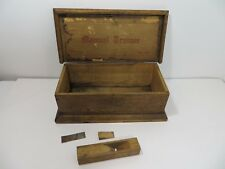 Vintage Converse Manual Trainer No.971 Child's Wood Toolbox