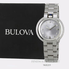 Authentic Bulova Women's Stainless Steel Rubaiyat Watch 96R219