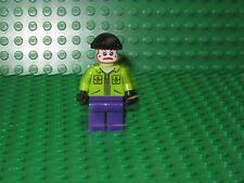 LEGO Batman Joker's Henchman Minifigure 6863 Lime Jacket Clown Face minifig