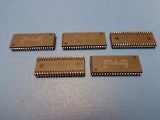 5) MT4C16256DJ-7 MICRON 4MEG 256Kx16 40 PIN 70NS SOJ FPM DRAM DYNAMIC RAM REFURB
