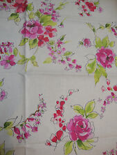 116cm DESIGNERS GUILD Water Roses cotton curtain fabric remnant