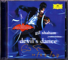 Gil SHAHAM Signed DEVIL'S DANCE Witches of Eastwick Grieg Ysaye Tartini Trill CD