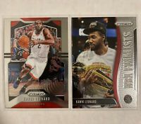 2019-20 Panini Prizm KAWHI LEONARD Base #149 And NBA Finalists Insert #1 Raptors