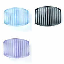 Wavy Gray, Purple or Blue Soap Dish/Soap Saver Bathroom Counter Soap Dish Holder