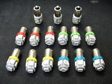15 Assorted 5 LED Instrument Panel Dashboard Lights Bulbs BA9S 53 1815 1895 GM