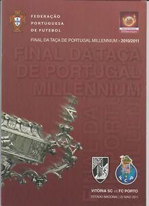 Orig.PRG  Portugal Cup  2010/11  FINAL  VITORIA GUIMARÄES - FC PORTO !!  RARE