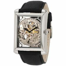 Stainless Steel Case Adult Wristwatches with Skeleton