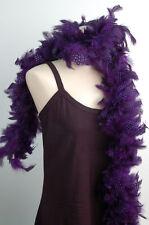"GUINEA PLUMAGE BOA - PURPLE4-6"" Feathers 72"" (Halloween/Costume)"
