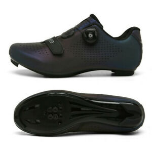 Men Cycling Shoes MTB Bike SPD Cleats Sneakers Bicycle Road Outdoor Spin Peloton