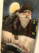 Boardwalk Originals Bonnie Barrett Hanging Stocking - Merry Christmas