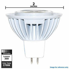 Lot of 3 - Sylvania LED6MR16/DIM830/FL36 6W LAMP BULB LIGHTING LIGHT LED Lamp