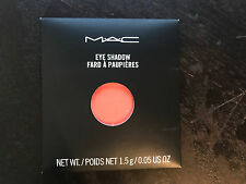 "MAC Eye Shadow REFILL  "" CORAL "" NEW IN BOX authentic from mac stores pro pan"
