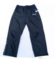 HUK PERFORMANCE MEN Packable Rain Pants Black Fishing Boating Medium Reg $99