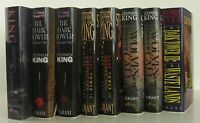 STEPHEN KING The Dark Tower Series SIGNED LIMITED ED SERIES 9 VOLUMES
