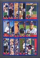 2003 Topps Cleveland Indians TEAM SET (23) Cards
