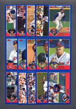 2003 Topps Baseball Cleveland Indians TEAM SET