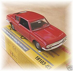 Märklin 18103-03 Audi 100 Coupe 1:43 Carmine Red # New Boxed