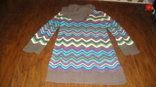 GAP KIDS XS 4-5 ZIG ZAG SWEATER STYLE DRESS