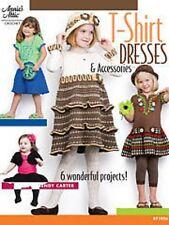 Filles T Shirt Robes Crochet pattern 6 projets