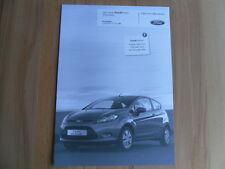 Der neue Ford Fiesta ECOnetic Preisliste / Prospekt von 11.10.2008