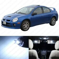 6 x Xenon White LED Interior Light Package For 2000 - 2005 Dodge Neon