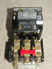 Square D 8536-SB02 Form S Ser A Starter 600VAC Coil 31041-400-42 120V 50/60Hz
