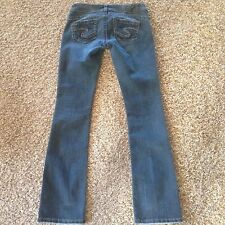 "Silver Jeans TUESDAY 16-1/2"" Low Rise  W26xL33"