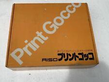RISO Print Gocco Print Ink Lamp unused