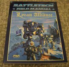 Classic Battletech Field Manual Lyran Alliance Sourcebook FASA Steiner
