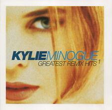 KYLIE MINOGUE - Greatest remix hits 1 - CD album (2 CDs, 22 tracks)