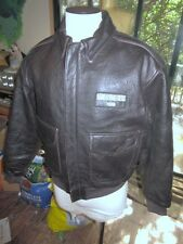 Hbo Band Of Brothers Leather A-2 Flight Flying Bomber Jacket. Mans Medium