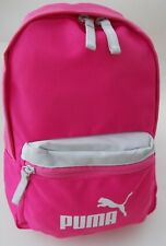 Puma Mini Rucksack Pink & Grey School Gym,Training, Backpack