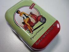 VESPA SCOOTER 1955 Boîte Pilulier Boîte de rangement Tin Box Piaggio Italie