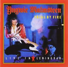 Yngwie Malmsteen Trial By Fire: Live In Leningrad CD NEW SEALED Metal