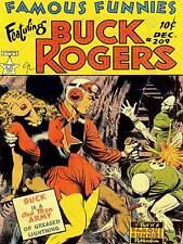 Housse famous funnies buck rogers sci fi pistolet laser usa art poster print CC6286