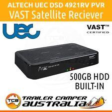 Altech UEC DSD4921RV 500GB PVR VAST TV Satellite Receiver Decoder Box 12v 240v