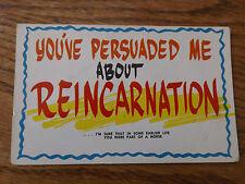 Comic Funny Postcard PLASTICHROME COLOURPICTURE PUBLISHERS Laugh Boston MA USA