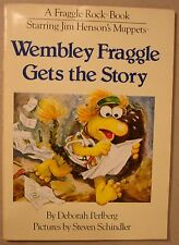 Wembley Fraggle Gets the Story Deborah Perlberg Rock 1984 SC FIRST EDITION