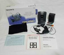 Vintage Sony Walkman Auto Reverse Cassette Player WM-EX1 Mint in Box