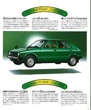 Alte Prospekte und Kataloge für Daihatsu Autos