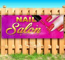 Nail Salon Advertising Vinyl Banner Flag Sign Many Sizes Usa Barber Hair Pink