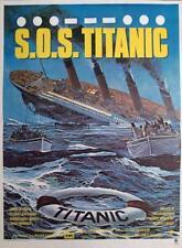 S.O.S TITANIC - BOAT / OCEAN - ORIGINAL SMALL FRENCH MOVIE POSTER