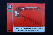 V330 JOUEF maquette Ho 674 Passage superieur boite complementaire train diorama