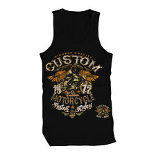 Highest Quality Custom Motorcycle Fastest Riders 1980 Mens Tank Top