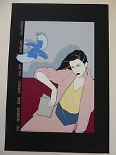 Patrick Nagel - PIEDMONT BOOK COMPANY -  Hand Signed & Numbered - 1979 - 234/250