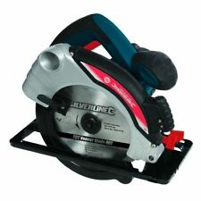 Silverline Silverstorm 1400w Circular Saw With Laser Guide 185mm