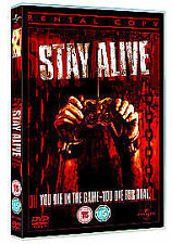 Stay Alive (DVD, 2006)