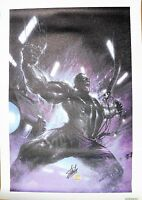 Marvel Secret War #1 Incredible Hulk Limited Giclee Canvas Signed by Stan Lee