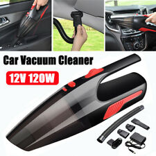 Portable Cordless Handheld Vacuum Cleaner 120W Car Home Cleaning Wet Dry Duster