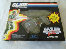 NEW IN BOX GI JOE LAZER LASER TAG BATTLE GAME KIT WOW HASBRO 1987 NIB VINTAGE >>